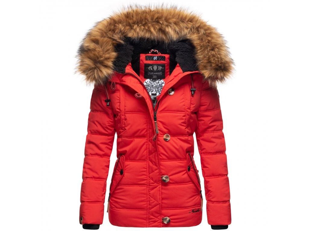 Dámska zimná bunda Zoja Navahoo - RED