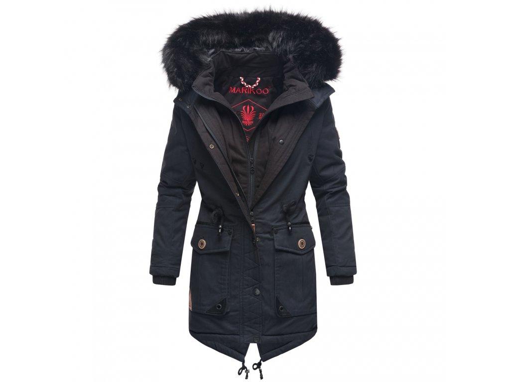 Dámska zimná bunda / kabát Knutschkugel Marikoo - NAVY
