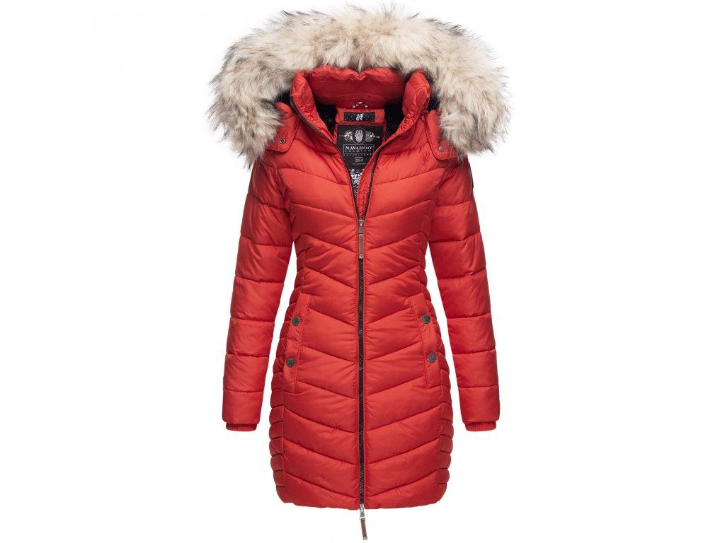 Dámska zimná bunda - kabát Nimalaa Navahoo - RED