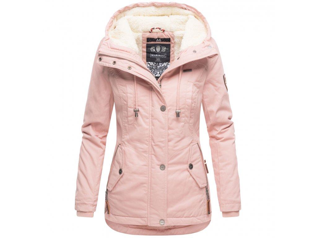 Dámska zimná bunda Bikoo Marikoo - ROSE