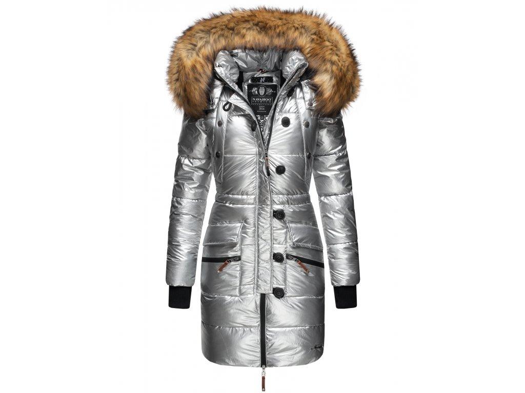 Dámská zimní bunda - kabát Zuckerle Navahoo - SILVER
