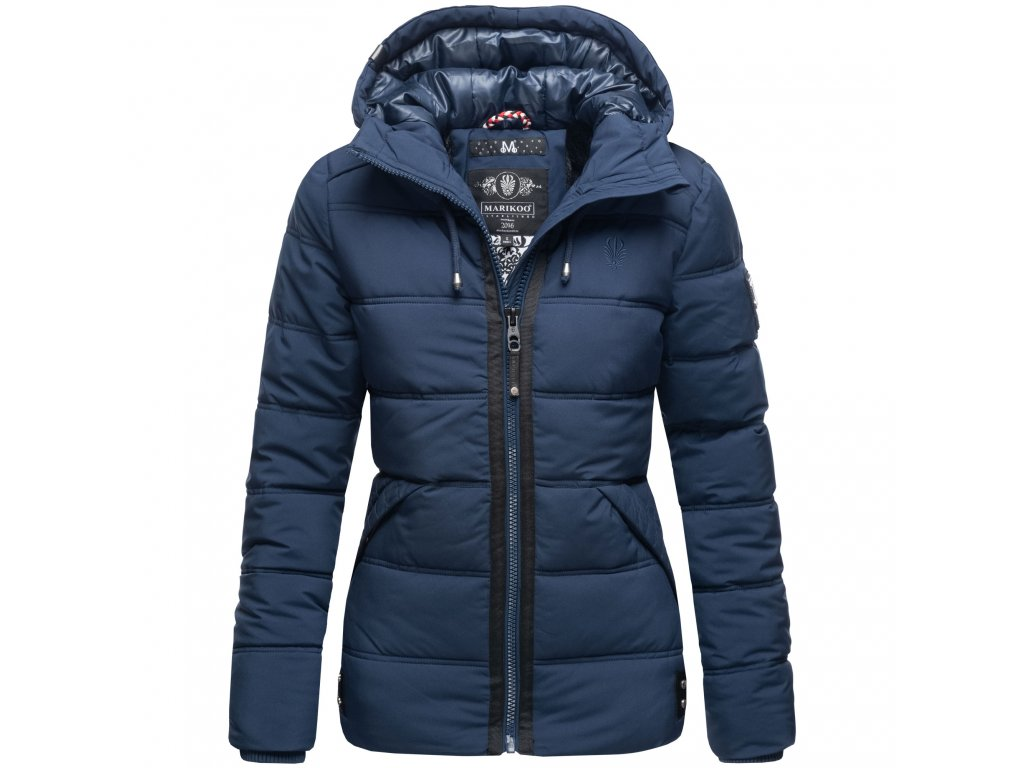 Dámska zimná bunda s kapucňou Liebeswolke Marikoo - NAVY