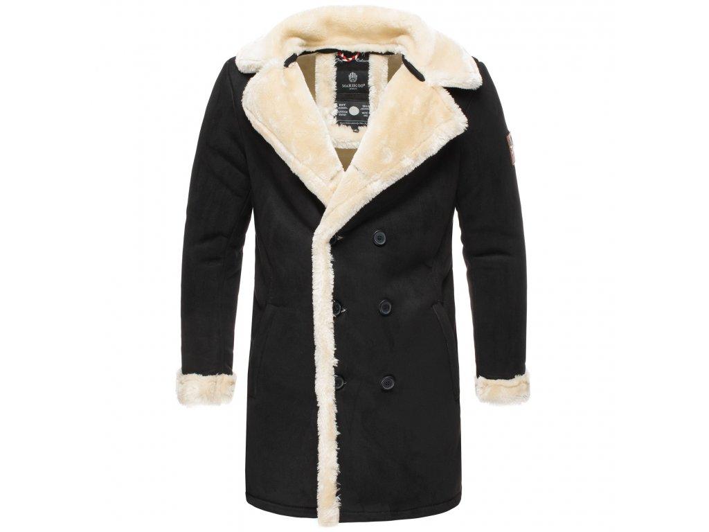 Pánsky zimný kabát Yasuoo Marikoo - BLACK