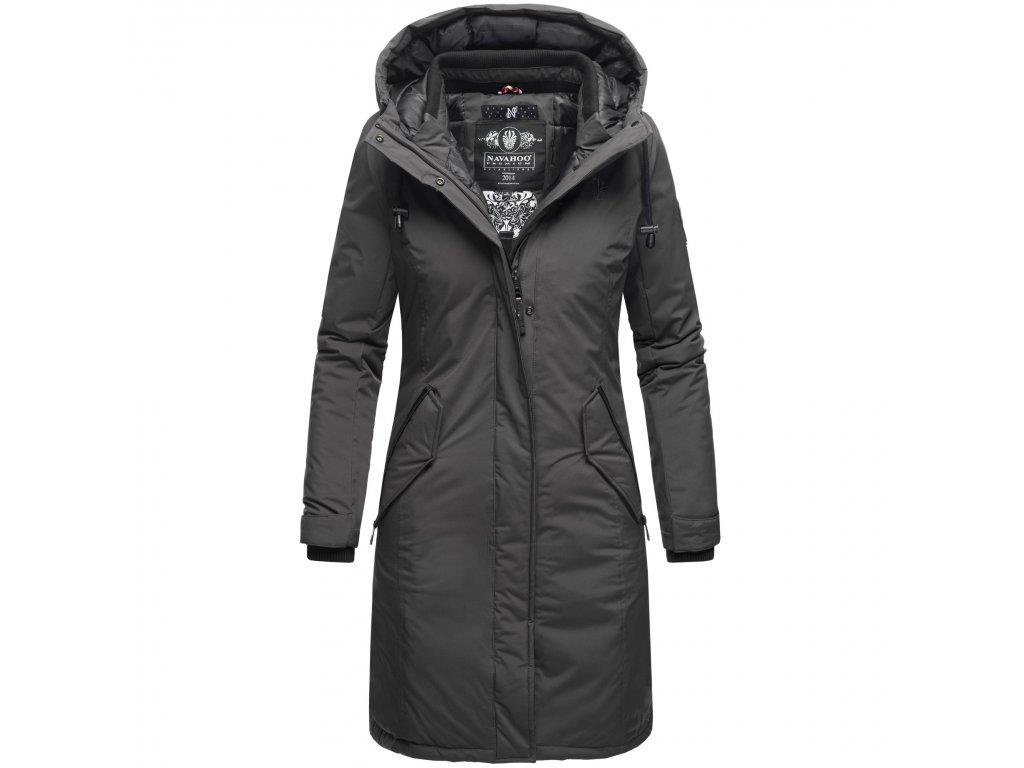 Dámsky zimný kabát Letiziaa Navahoo - Antracite