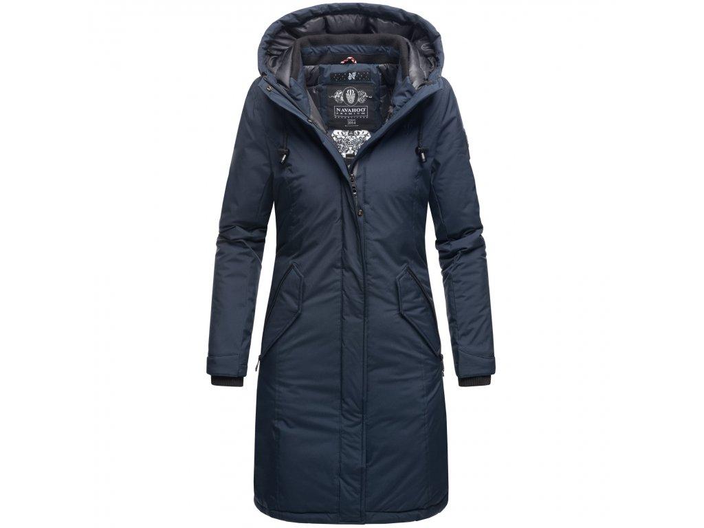 Dámsky zimný kabát Letiziaa Navahoo - NAVY