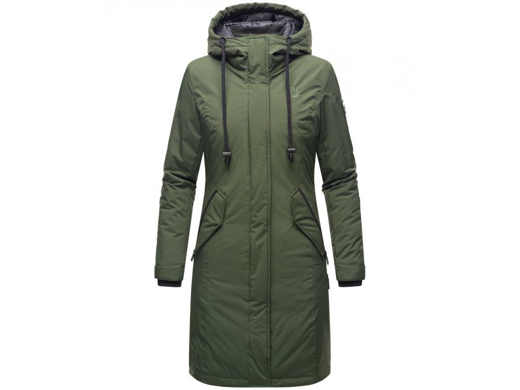 Dámsky zimný kabát Letiziaa Navahoo - OLIVE