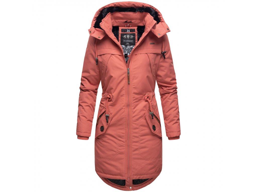 Dámska zimná bunda Kamii Marikoo - DARK CORAL