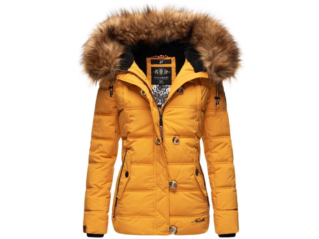 Dámska zimná bunda Zoja Navahoo - YELLOW