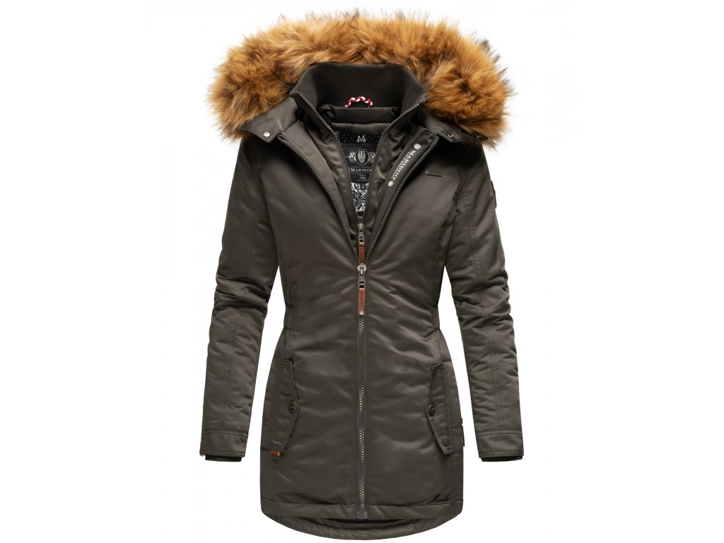 Dámska zimná bunda / kabát Sanakoo Marikoo - ANTRACITE