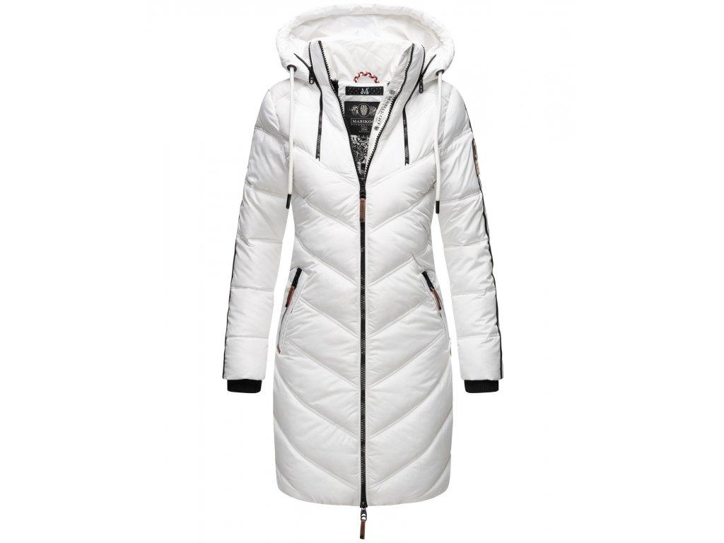 Dámska zimná dlhá bunda Armasa Marikoo - WHITE