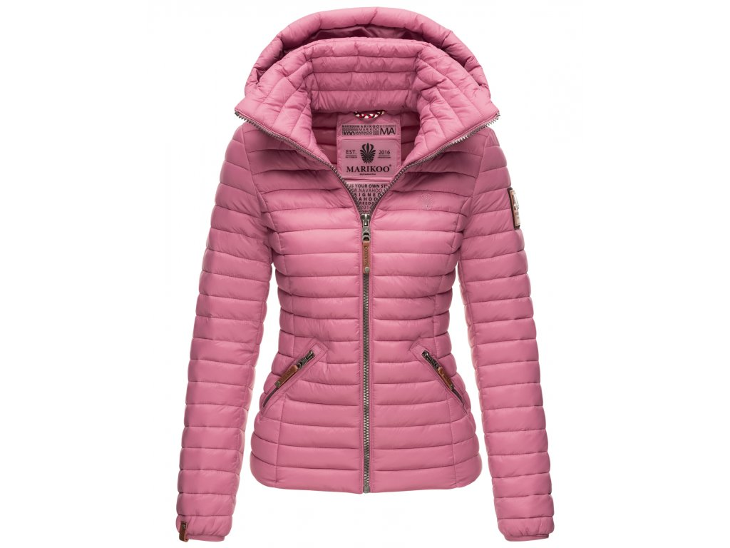 Dámska jarná / jesenná bunda Lowenbaby Marikoo - DARK ROSE
