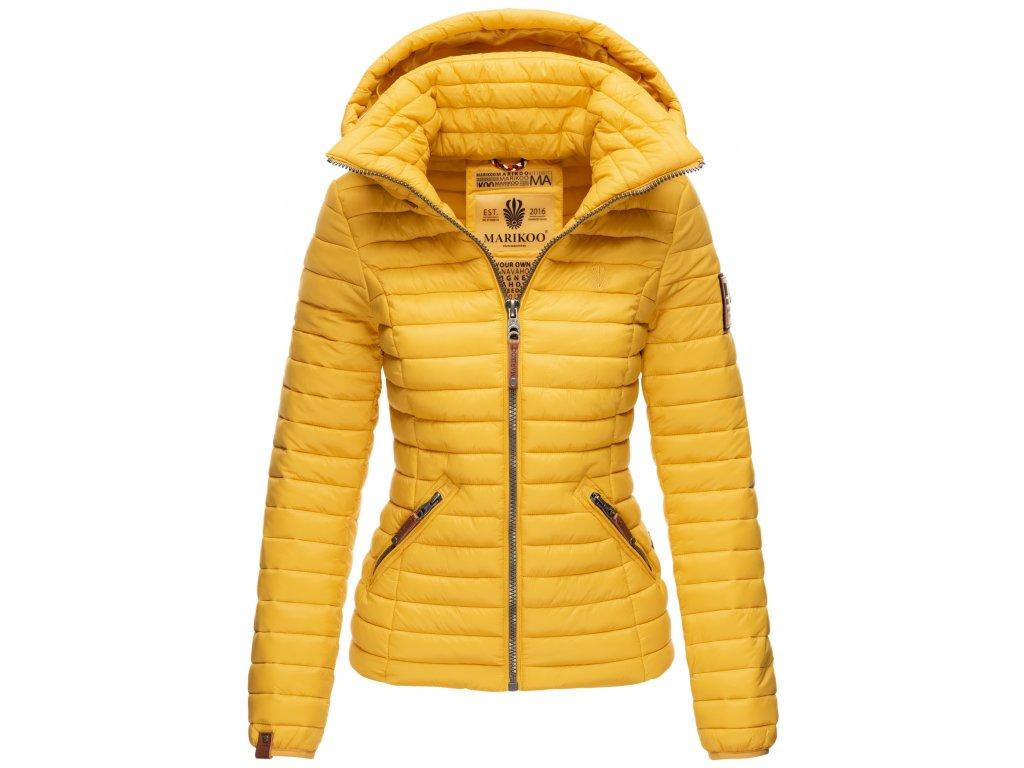 Dámska jarná / jesenná bunda Lowenbaby Marikoo - YELLOW