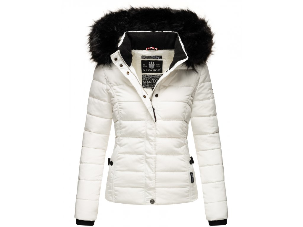 Dámska zimná bunda s kožušinkou MIAMOR Navahoo - WHITE