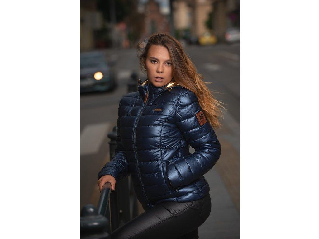 Dámska zimná bunda Aurelianaa Navahoo - NAVY