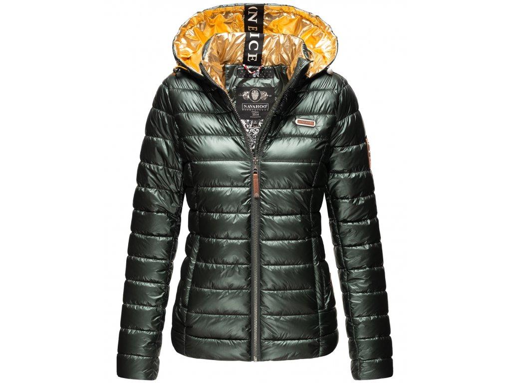 Dámska zimná bunda Aurelianaa Navahoo - OLIVE
