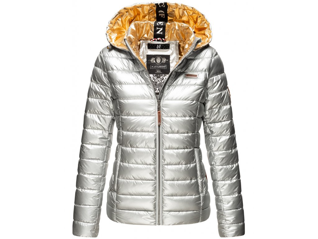 Dámska zimná bunda Aurelianaa Navahoo - SILVER