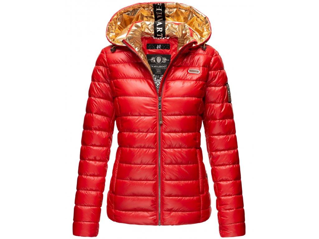 Dámska zimná bunda Aurelianaa Navahoo - RED