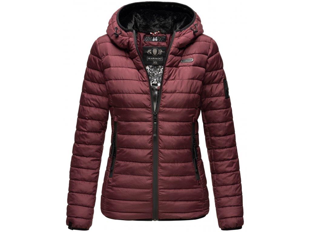 Dámska zimná bunda Jaylaa Marikoo - WINE