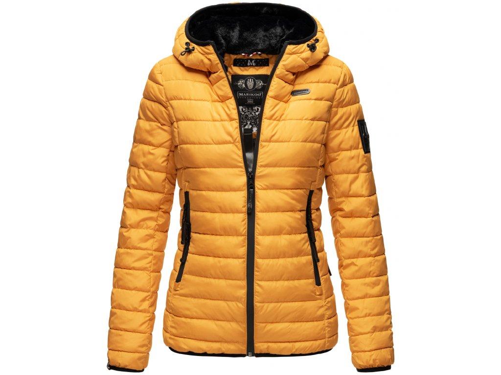 Dámska zimná bunda Jaylaa Marikoo - YELLOW