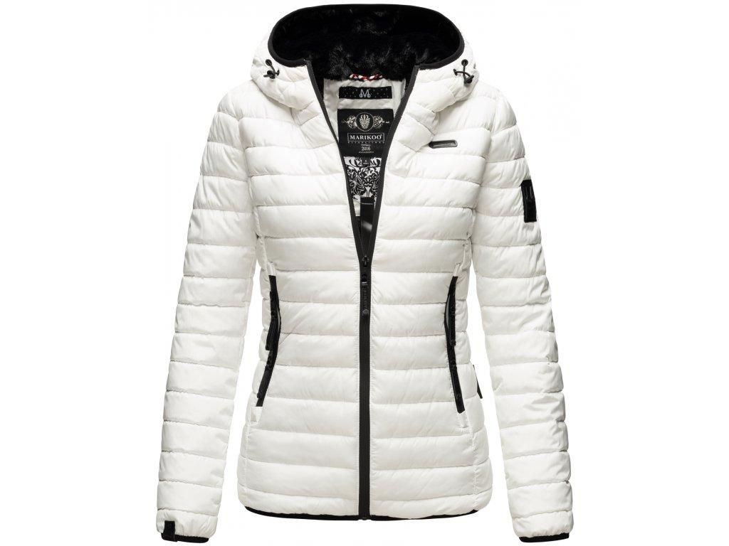 Dámska zimná bunda Jaylaa Marikoo - WHITE