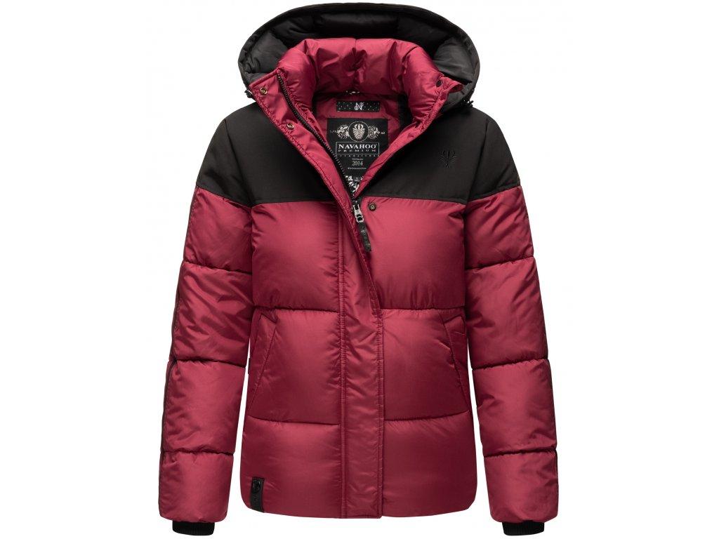 Dámska zimná bunda Sarafina Navahoo - BORDEAUX