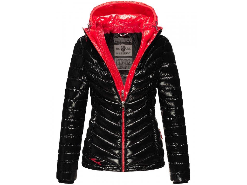 Dámska zimná bunda Lenjaa Marikoo - BLACK/RED