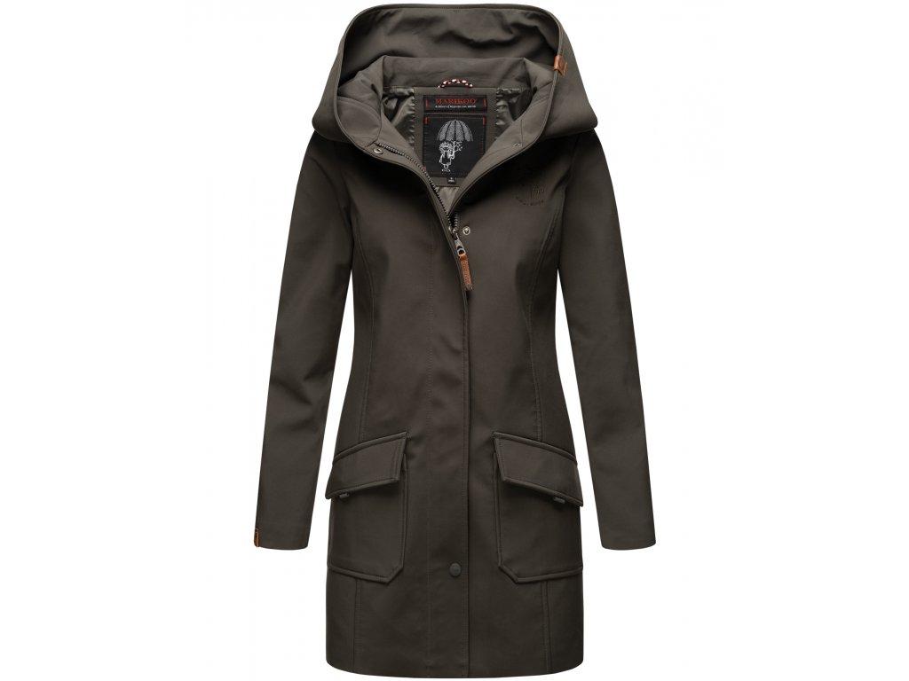 Dámsky zimný Softshell kabátik Mayleen Marikoo - ANTRACITE