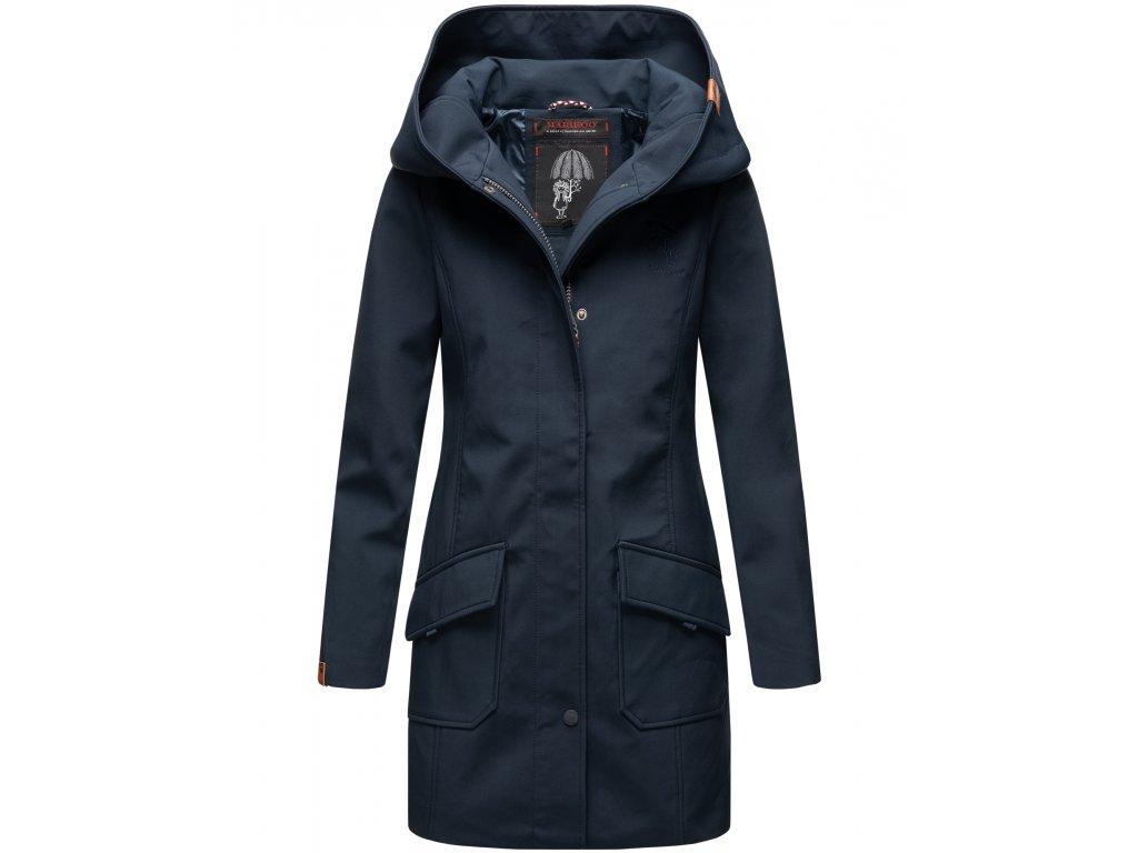 Dámsky zimný Softshell kabátik Mayleen Marikoo - BLUE