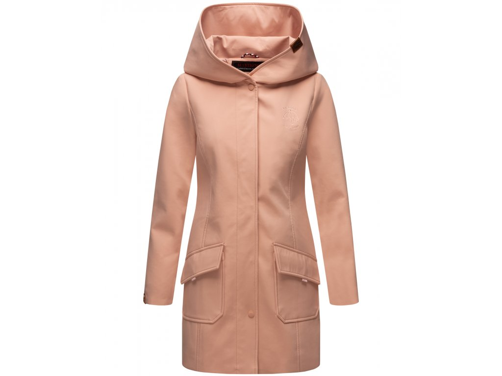 Dámsky zimný Softshell kabátik Mayleen Marikoo - ROSA