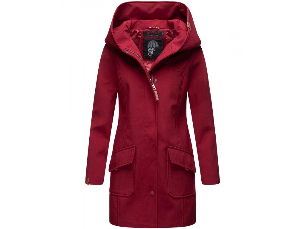 Dámsky zimný Softshell kabátik Mayleen Marikoo - BORDEAUX