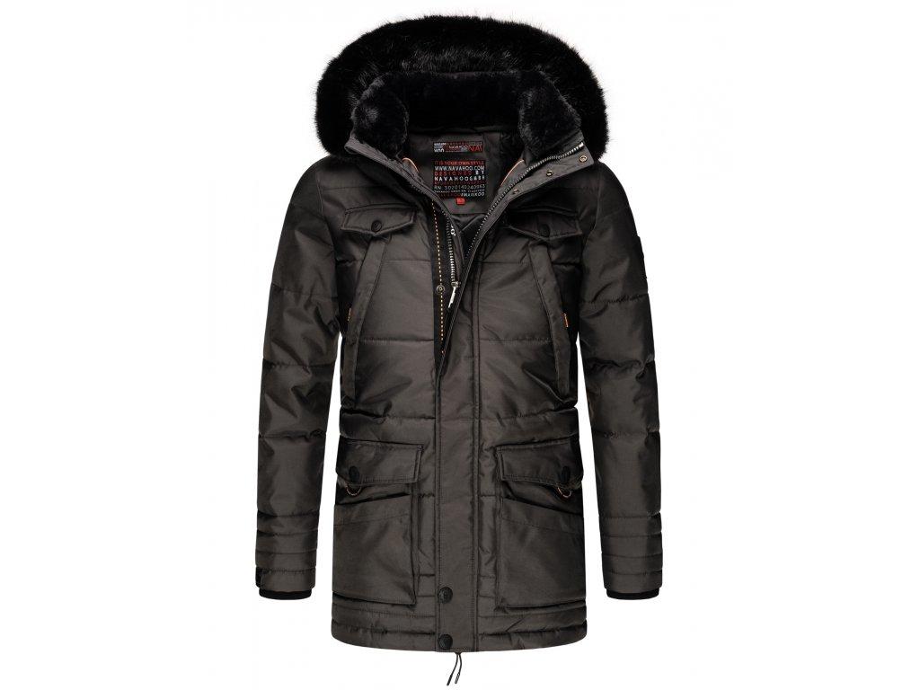 Pánska zimná bunda Luaan Navahoo - ANTRACITE