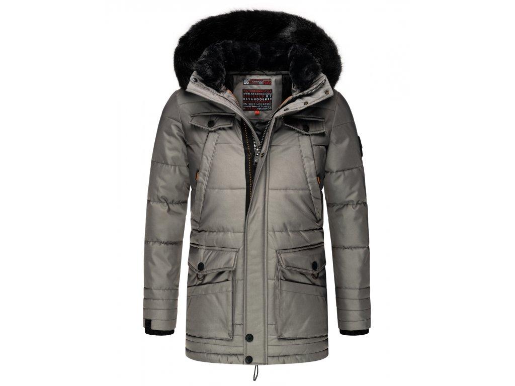 Pánska zimná bunda Luaan Navahoo - GREY