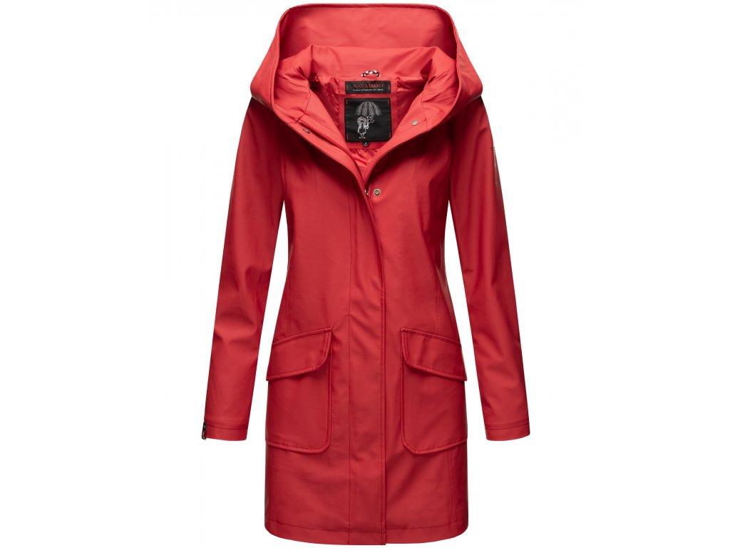 Dámsky nepremokavý kabát Delishiaa Navahoo - RED