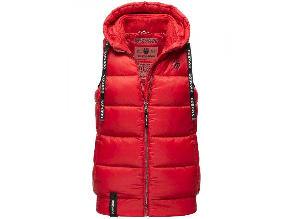 Dámska vesta s kapucňou Kassidy Navahoo - RED