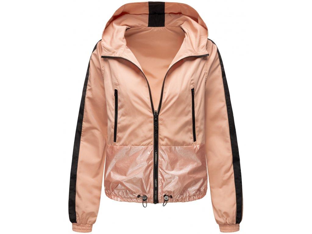 Dámska jarná - jesenná bunda Sunitaa Navahoo - LIGHT ROSE