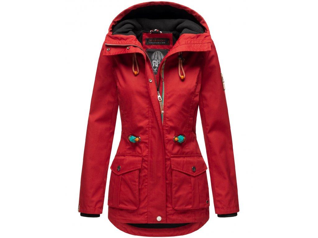 Dámska outdoor voduodpudivá bunda Babetaa Marikoo - CHERRY RED