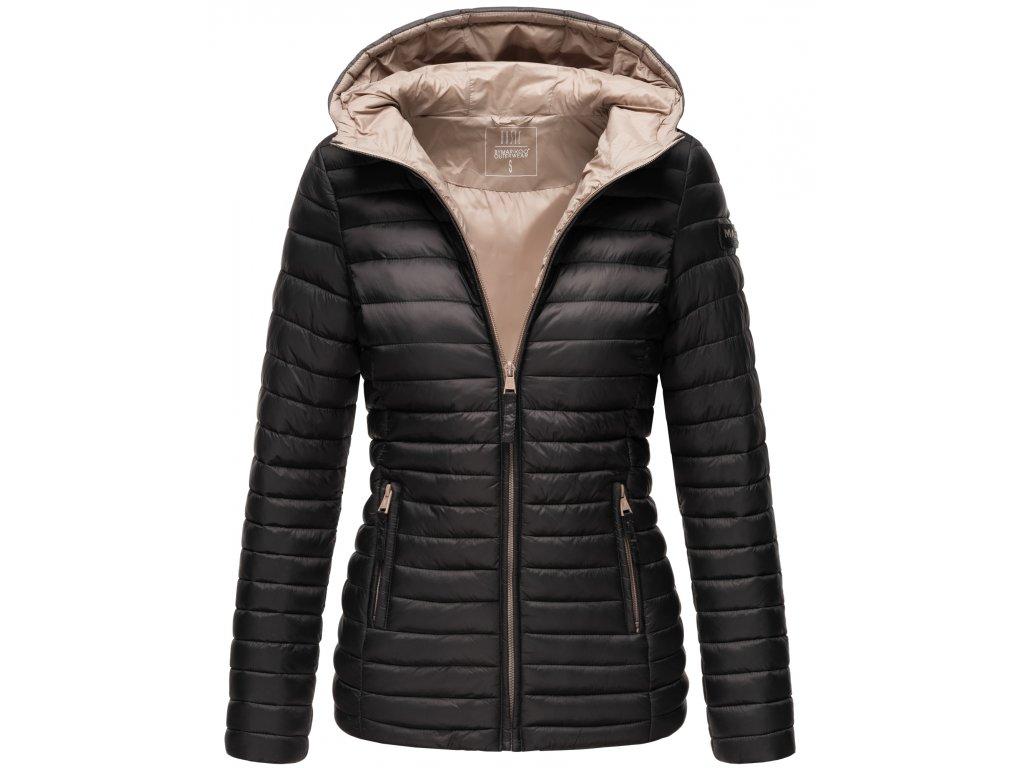 Dámska jarná-jesenná bunda Asraa Marikoo - BLACK