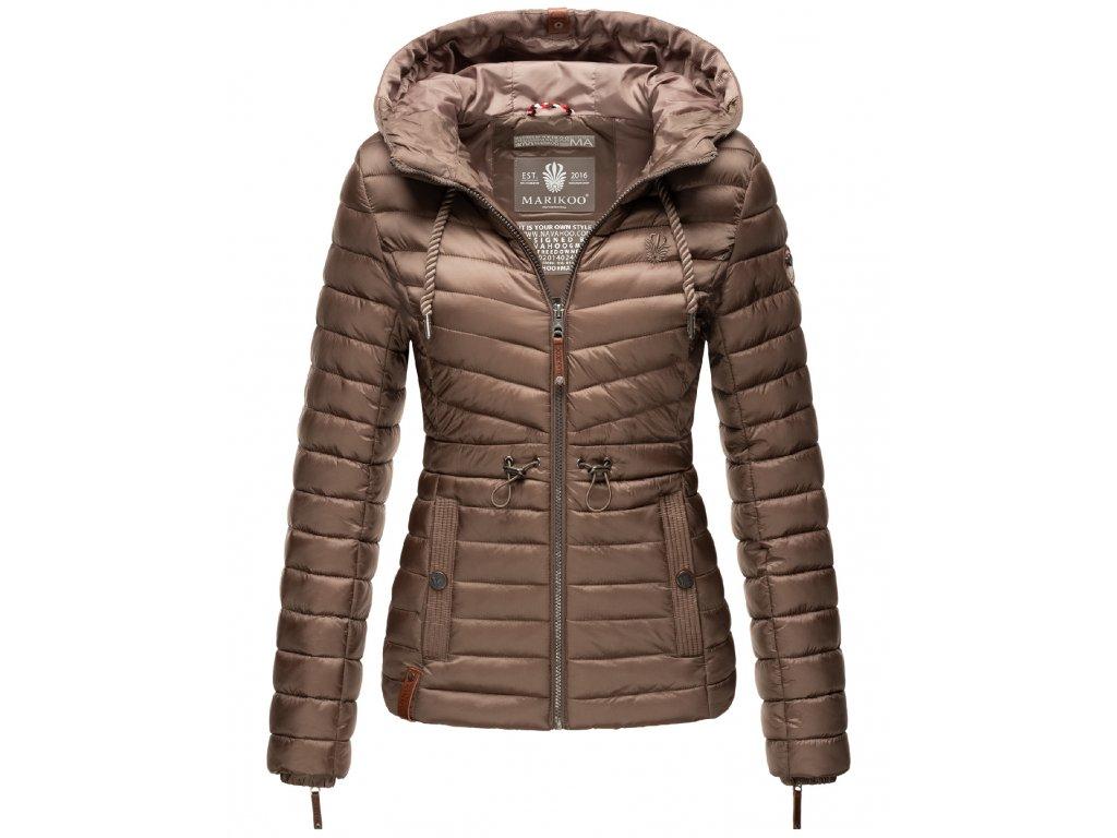 Dámska jarná-jesenná bunda Aniyaa Marikoo - TAUPE