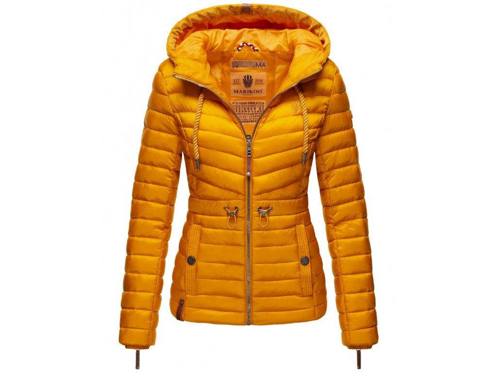 Dámska jarná-jesenná bunda Aniyaa Marikoo - YELLOW