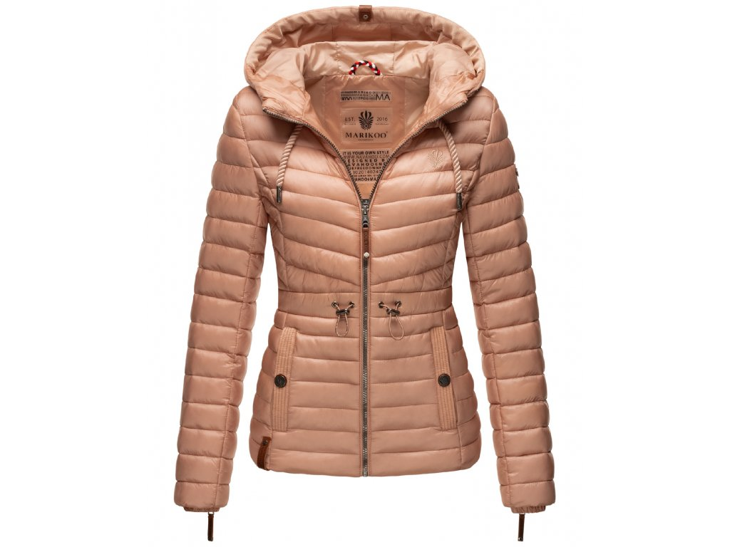 Dámska jarná-jesenná bunda Aniyaa Marikoo - LIGHT ROSE