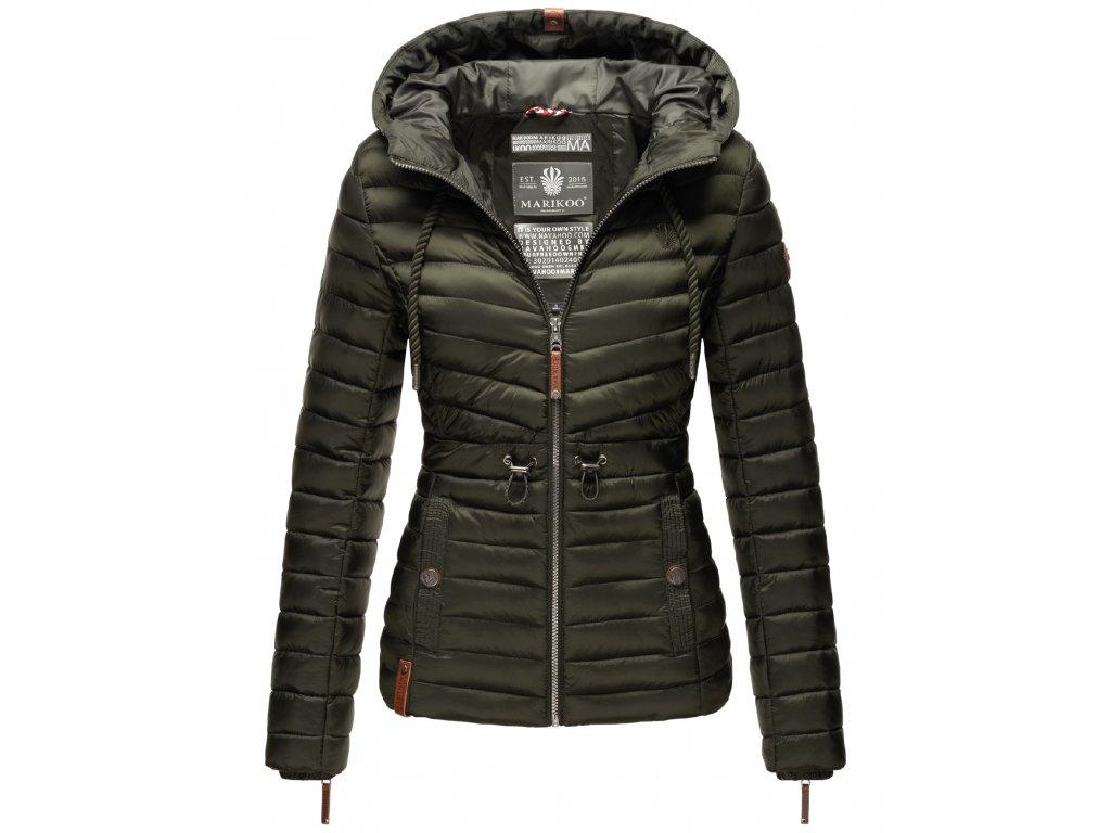 Dámska jarná-jesenná bunda Aniyaa Marikoo - OLIVE