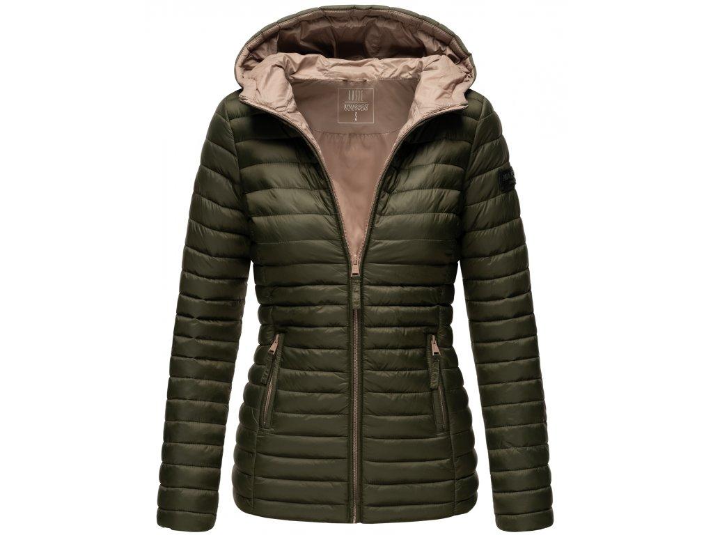 Dámska jarná-jesenná bunda Asraa Marikoo - OLIVE