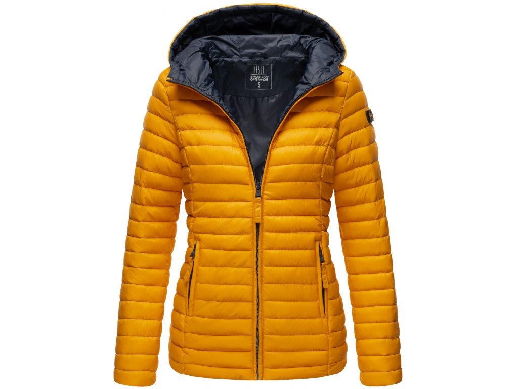 Dámska jarná-jesenná bunda Asraa Marikoo - YELLOW