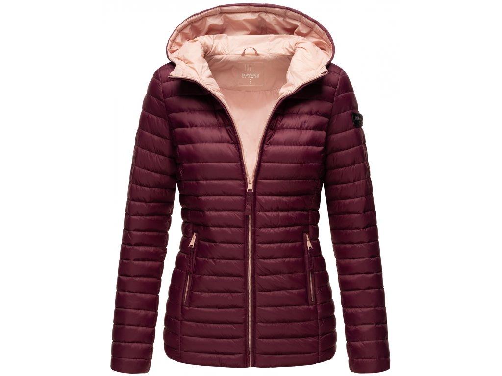 Dámska jarná-jesenná bunda Asraa Marikoo - WINE