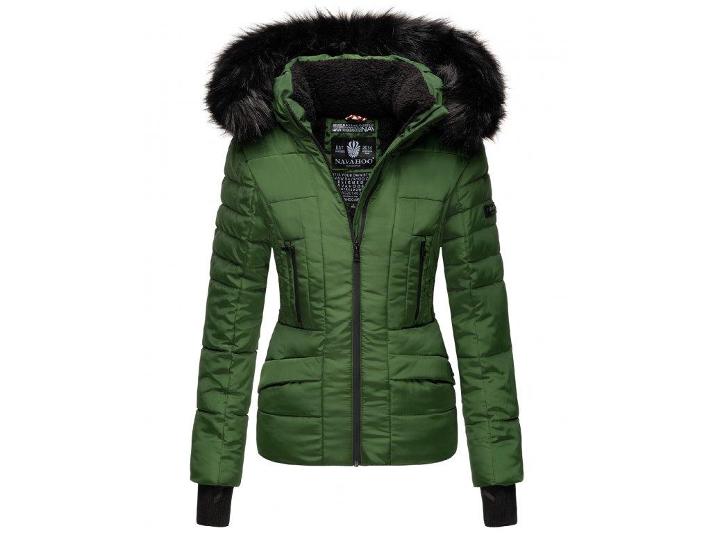 Dámska zimná bunda s kapucňou Adele Navahoo - GREEN 2