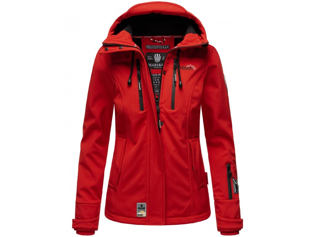 Dámska jarná / jesenná bunda KleineZicke Marikoo - RED