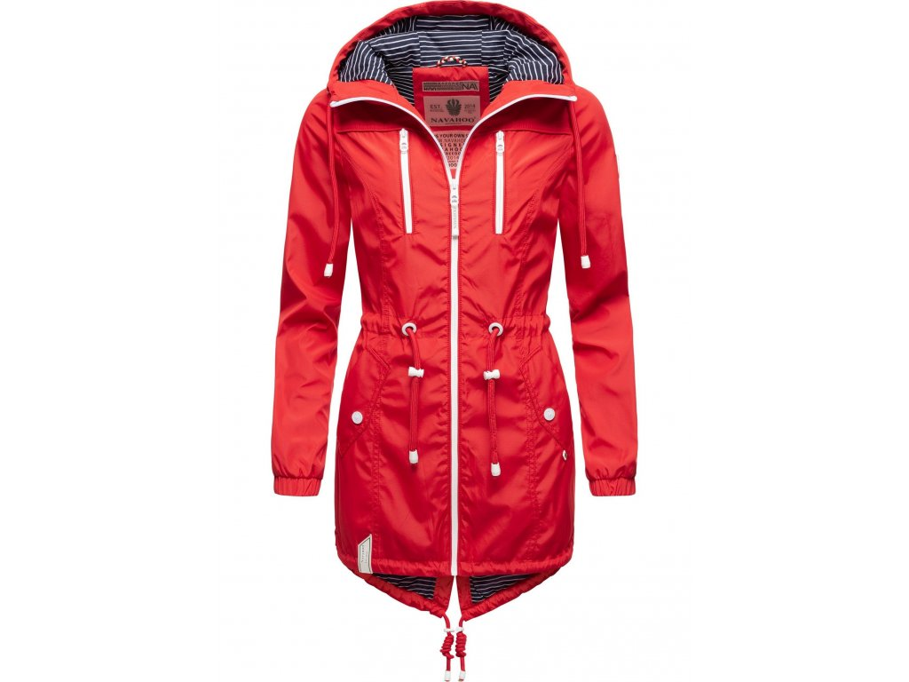 Dámska jarná / jesenná bunda Mein Nachtsternchen - RED