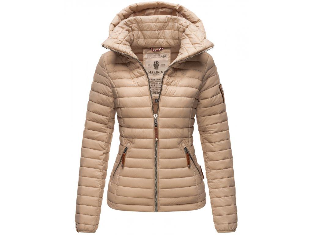 Dámska jarná / jesenná bunda Lowenbaby Marikoo - TAUPE