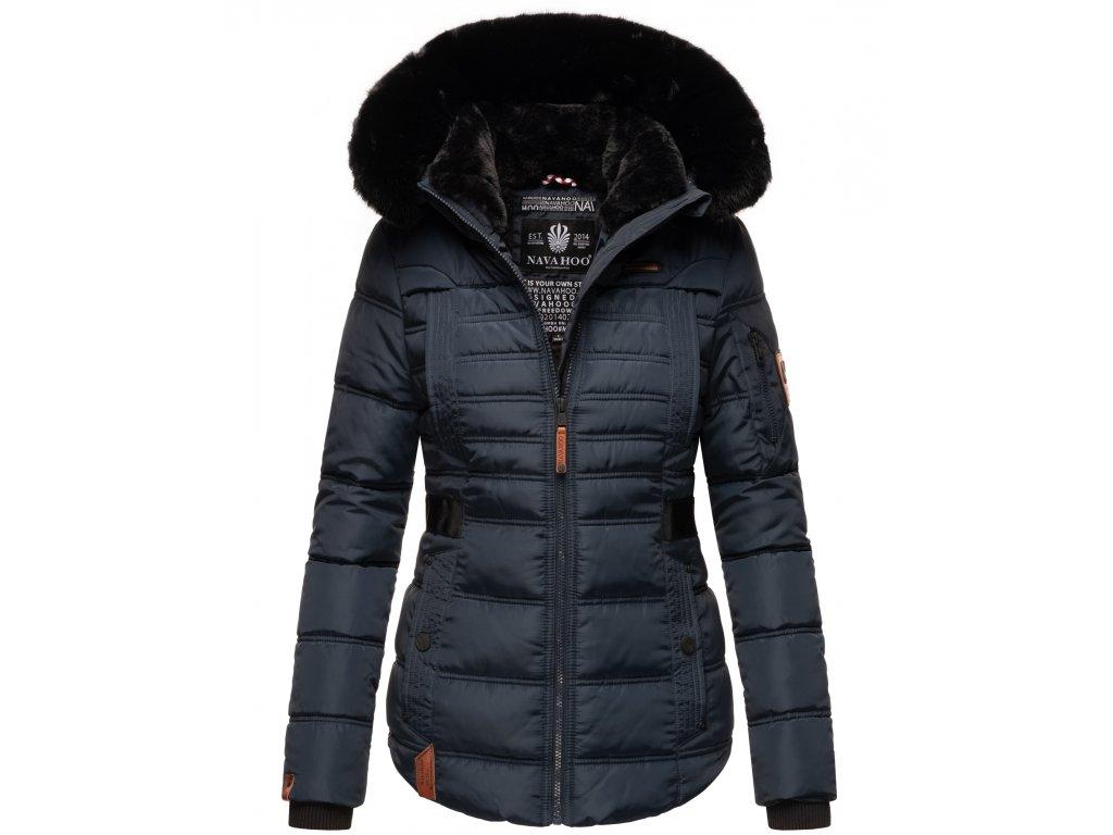 Dámská zimní bunda Melikaa Navahoo - BLUE