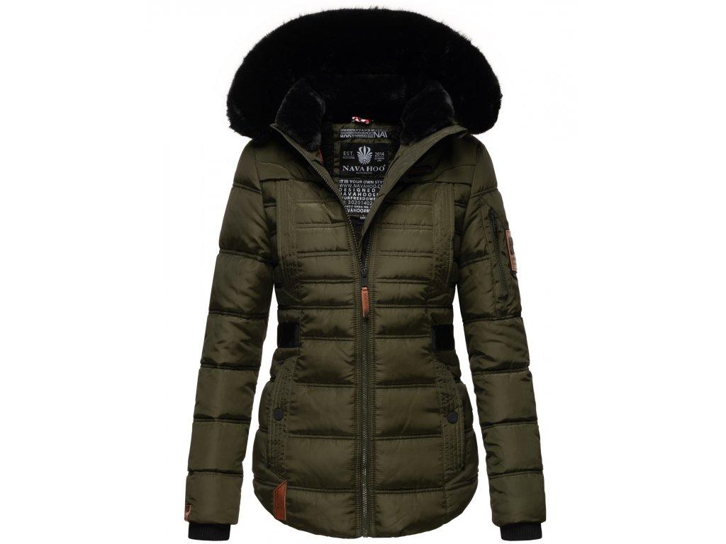 Dámská zimní bunda Melikaa Navahoo - OLIVE